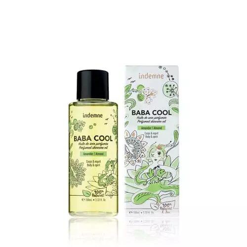 Indemne BABA COOL AMANDIER Huile de soin parfumée corps et cheveux apaisante