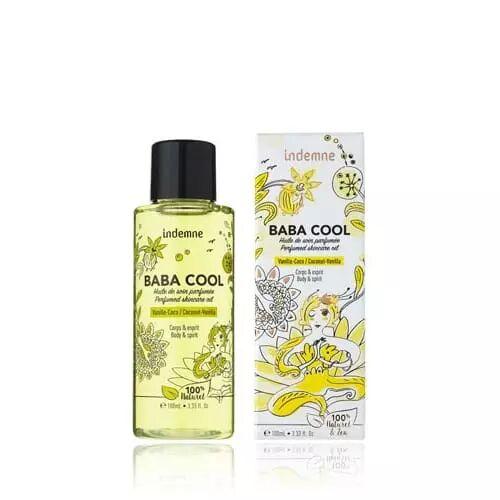 Indemne BABA COOL VANILLE-COCO Huile de soin parfumée corps et cheveux apaisante