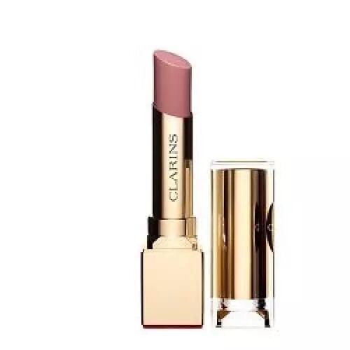 Clarins ROUGE ÉCLAT Le 1er Rouge à Lèvres Anti-Âge Clarins Couleur Satin 21 Tawny pink