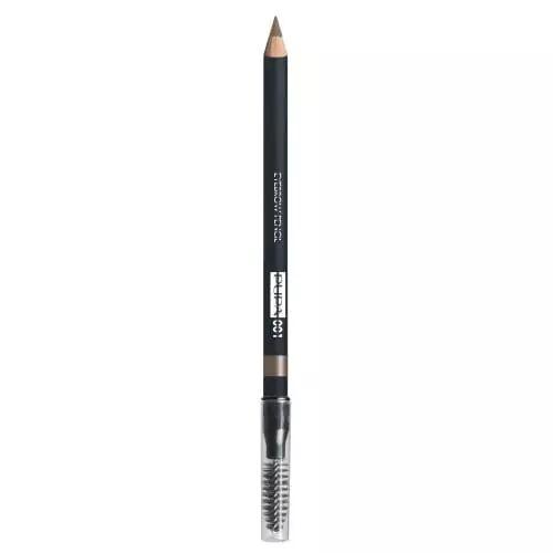 Pupa EYEBROW PENCIL Crayon Sourcils à Longue Tenue 001 Blonde