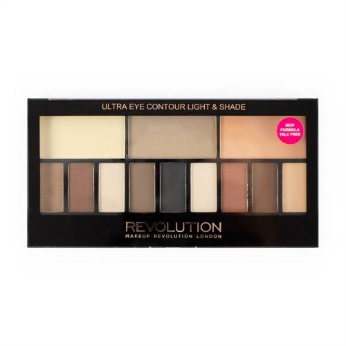 Revolution PALETTE ULTRA EYE CONTOUR LIGHT AND SHADE Palette Yeux