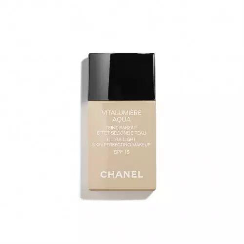 Chanel VITALUMIÈRE AQUA Teint Parfait Effet Seconde Peau SPF15 70 Beige