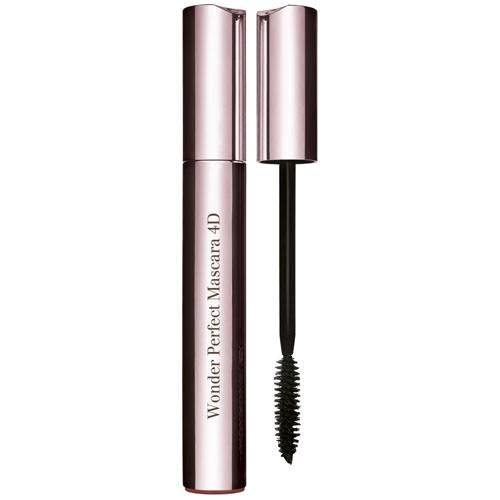 Clarins MASCARA WONDER PERFECT 4D Volume, longueur, courbure, haute définition. 01 perfect black