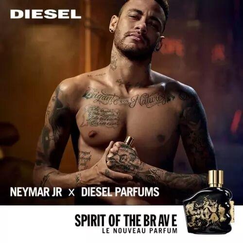 Diesel SPIRIT OF THE BRAVE Coffret Eau de Toilette fraiche et boisée, Neymar Jr. x Diesel
