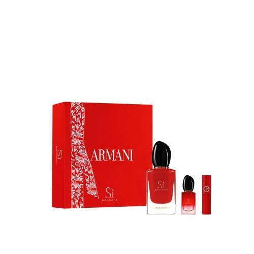 Giorgio Armani COFFRET SI PASSIONE Eau de Parfum 50ml + 2 Produits