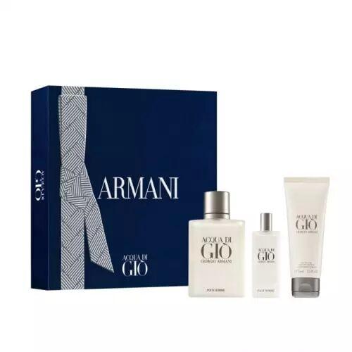 Giorgio Armani COFFRET ACQUA DI GIO Eau de Toilette 100 ml + 2 Produits