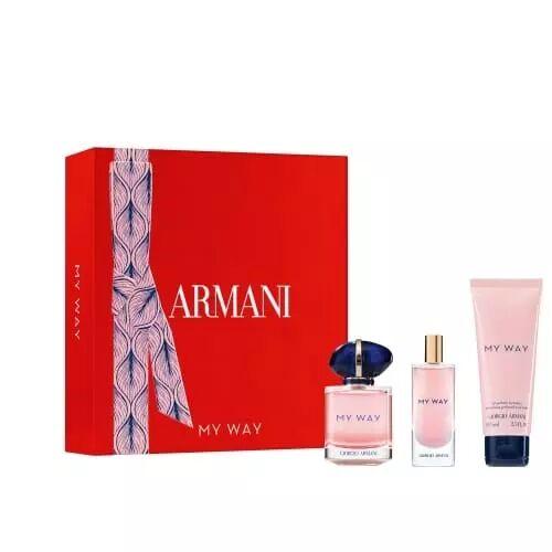 Giorgio Armani COFFRET MY WAY Eau de Parfum 50ml + 2 Produits