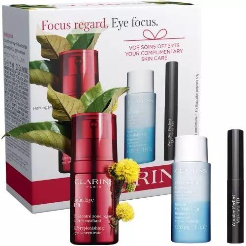 Clarins COFFRET TOTAL EYE LIFT Total Eye Lift 15 ml + 2 Produits
