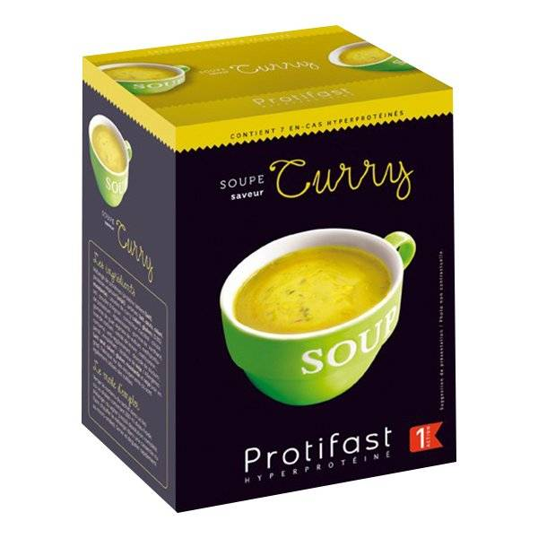 6004138 Protifast Soupe Curry 7 sachets