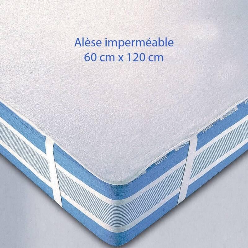 StylTex Alèse imperméable lit bébé 120x60