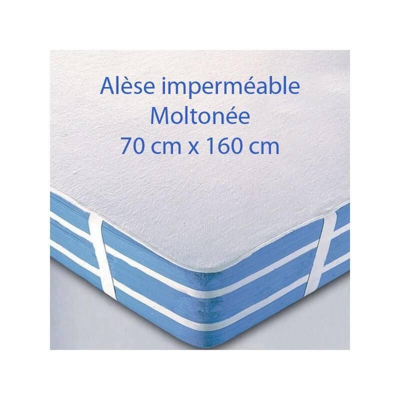 Alèse imperméable pour lit junior 160 x 70 cm - L160 cm