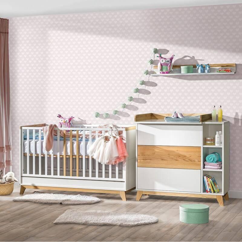 Petite Chambre Chambre bébé scandinave Nordik       petitechambre.fr