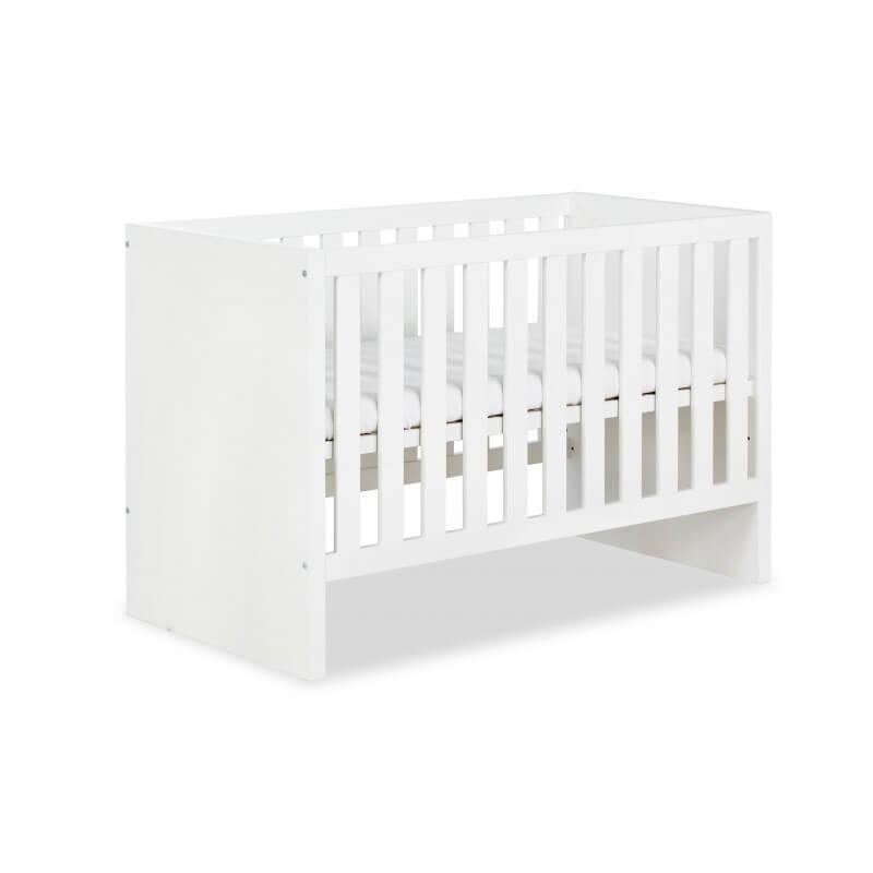 Petite Chambre Lit bébé évolutif Amélia 120x60cm   60 cm x 120 cm   Blanc   MDF   petitechambre.fr