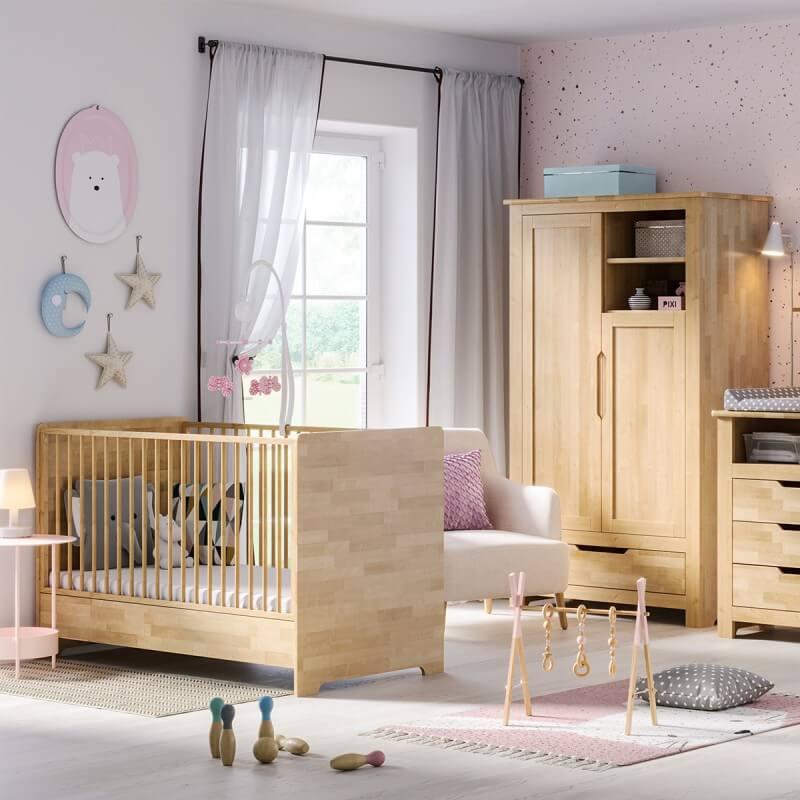 Petite Chambre Chambre bébé nature en bouleau Bétula     Bois massif   petitechambre.fr