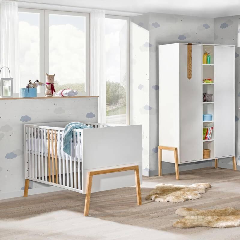 Petite Chambre Chambre complète bébé scandinave Yeti     Panneaux Stratifiés   petitechambre.fr