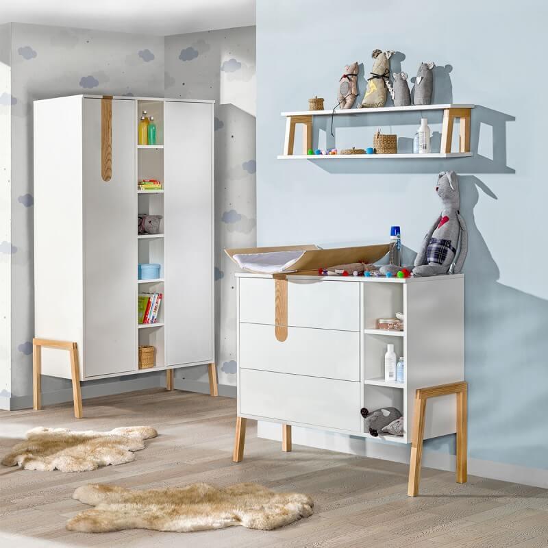 Petite Chambre Chambre bébé compète Yeti 6 éléments     Panneaux Stratifiés   petitechambre.fr