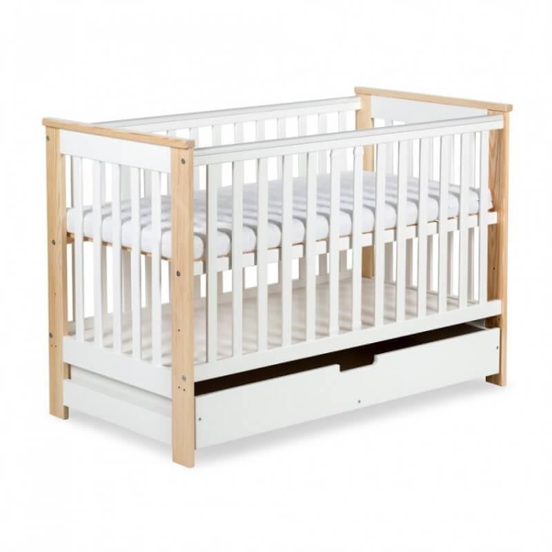 Petite Chambre Lit bébé évolutif 120x60 Kiwo - SOLDES   Pin   Bois massif   petitechambre.fr
