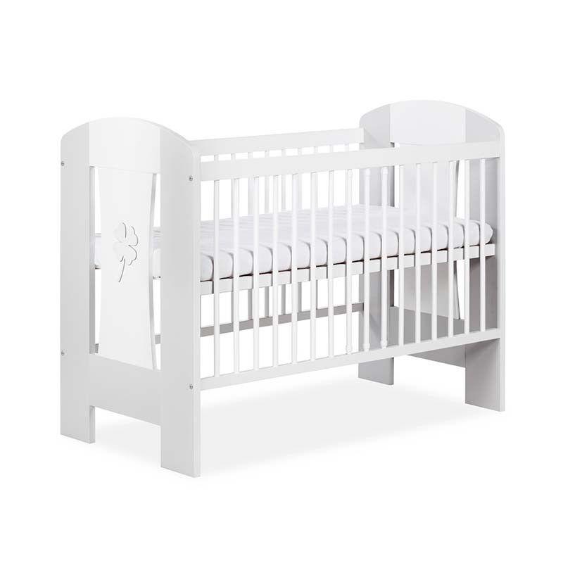 Petite Chambre Lit bébé 120x60 Nati     Gris   Bois massif   petitechambre.fr