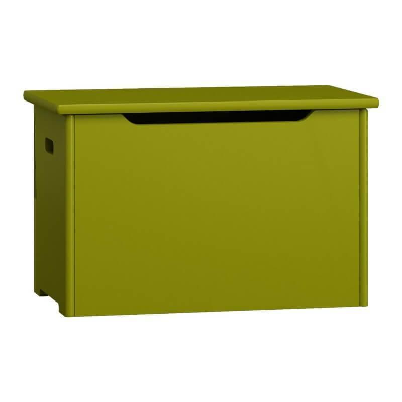 Coffre à jouets - 9 couleurs - Vert - H44 cm