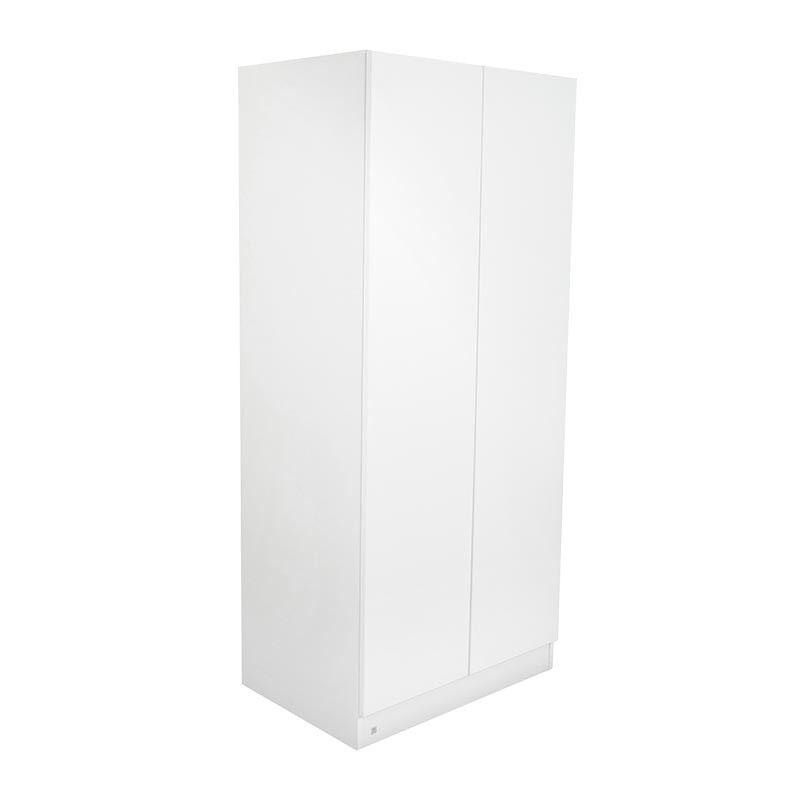 Armoire enfant 2 portes LIO - Blanc - H181 cm l80 cm