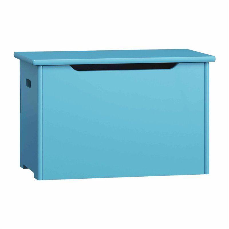 Coffre à jouets - 9 couleurs - Bleu - H44 cm