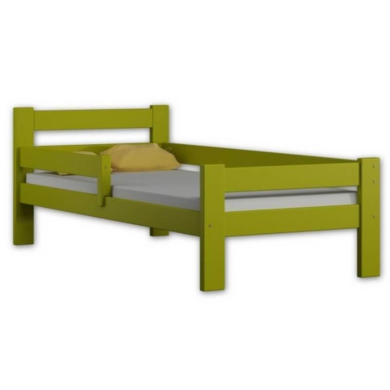 Lit enfant pas cher Paul Max personnalisable - Vert - 80 cm x 160 cm - H51 cm / 69 cm L167 cm ou 187 cm l88 cm