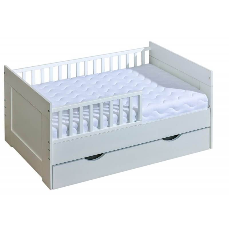Premier lit junior blanc 70x160 cm