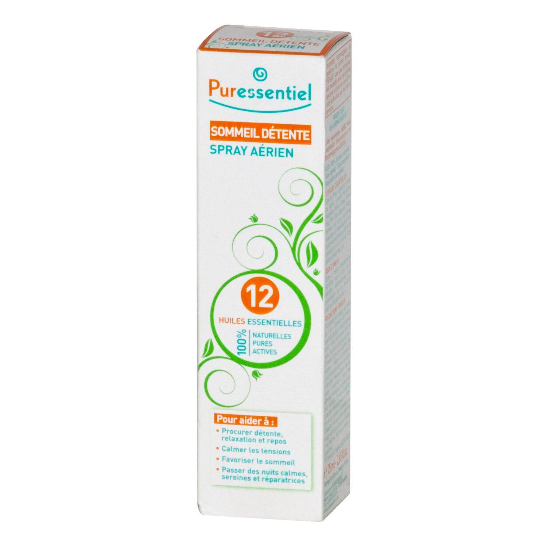 Puressentiel Sommeil Détente Spray aux 12 Huiles Essentielles 75 ml