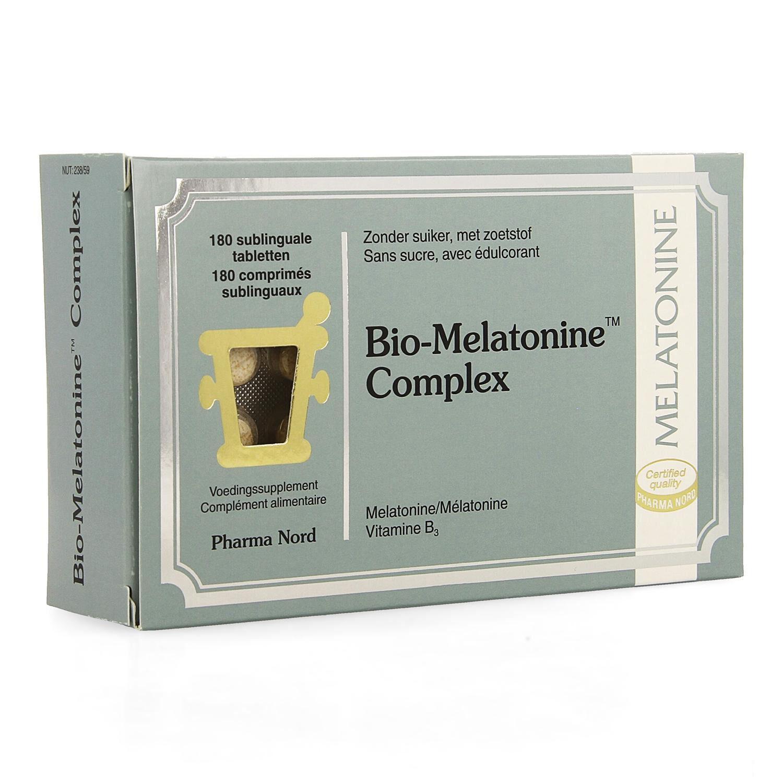 BIO + Mélatonine Complex 180 Comprimés Sublinguaux Pharma Nord