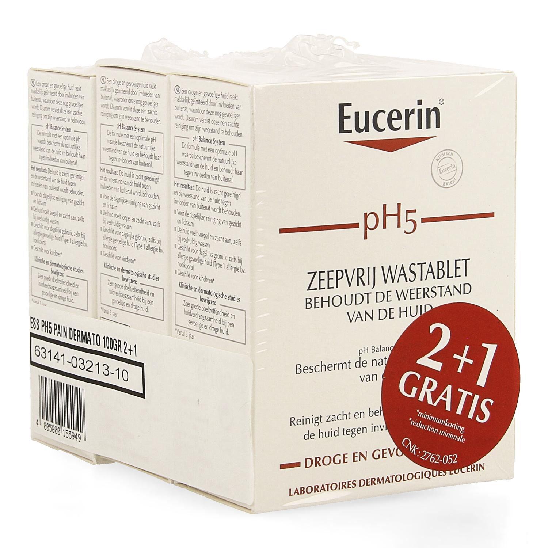 Eucerin PH5 Pain Dermatologique 3 x 100 g Promo