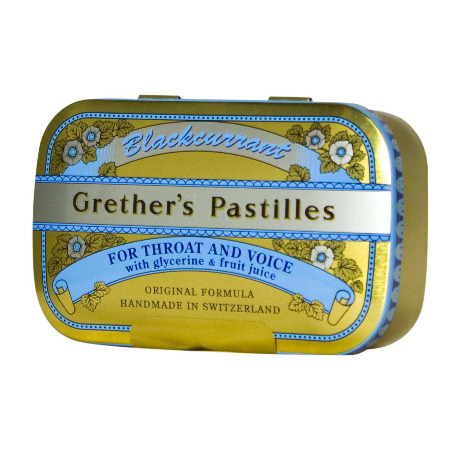 Grether's Pastilles Blackcurrant 110 g