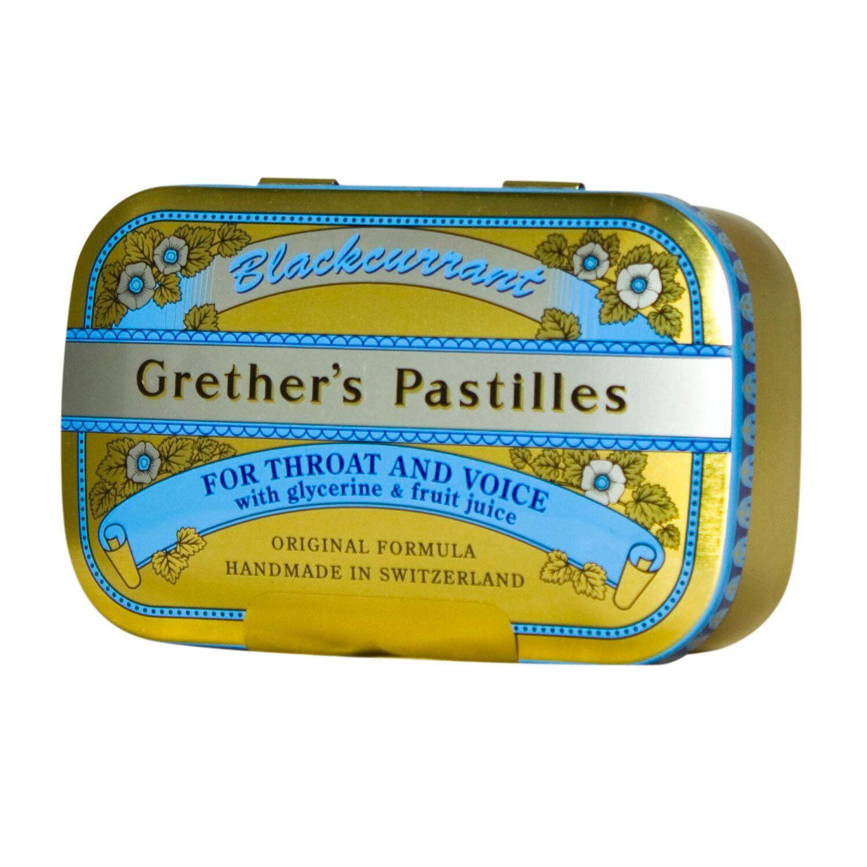 Grether's Pastilles Blackcurrant 110 g