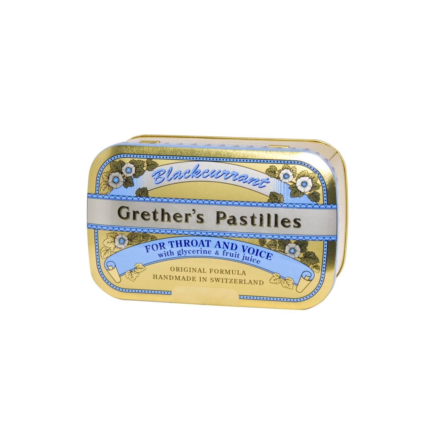 Grether's Pastilles Blackcurrant 440 g
