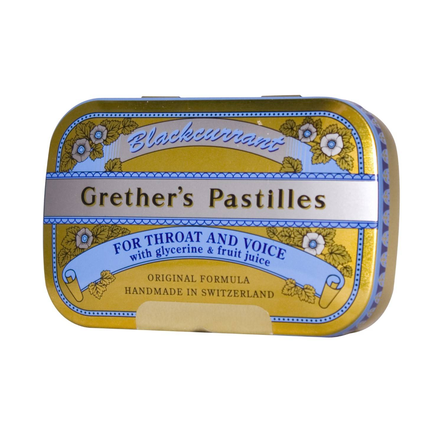 Grether's Pastilles Blackcurrant 60 g