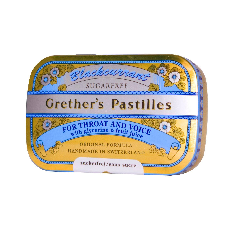 Grether's Pastilles Blackcurrant Sans Sucre 60 g