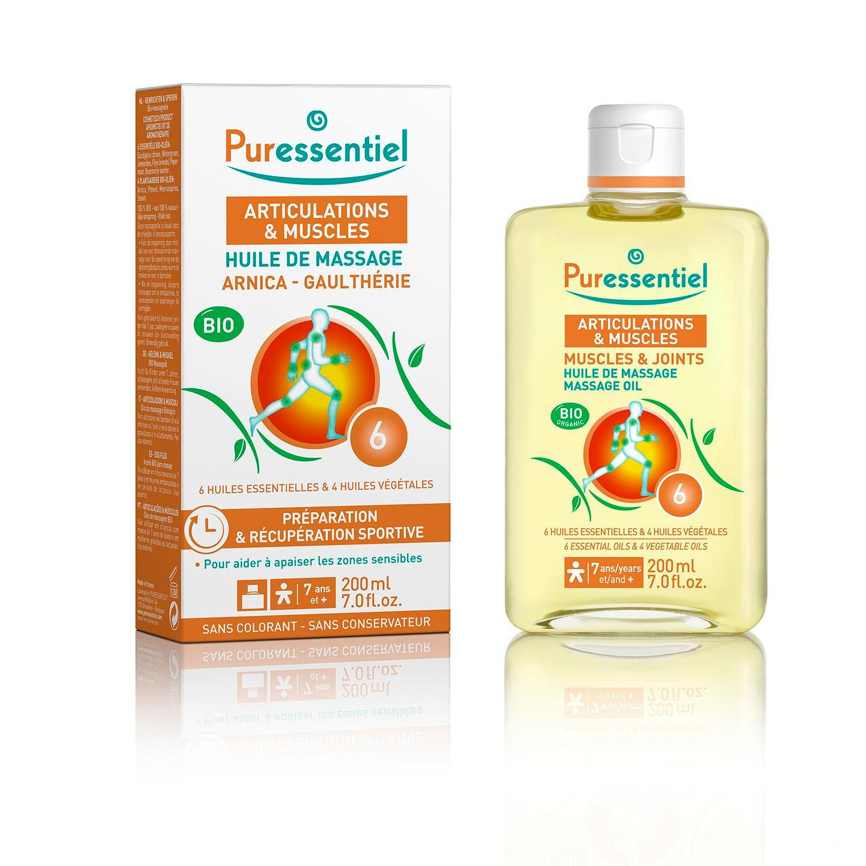 Puressentiel Effort Musculaire Huile De Massage Bio Arnica 200 ml