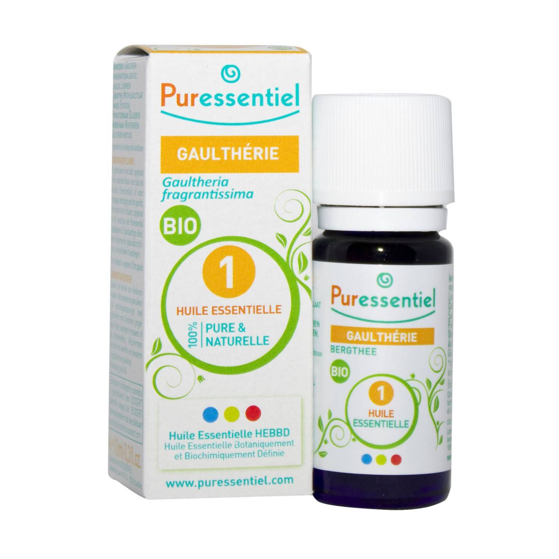 Puressentiel Expert Gaultherie Huile Essentielle Bio 10 ml