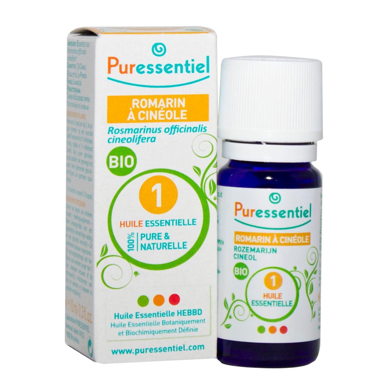 Puressentiel Romarin Cinéole Huile Essentielle Bio 10 ml