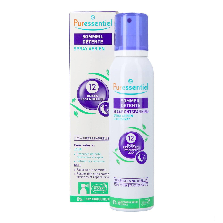 Puressentiel Sommeil Détente Spray aux 12 Huiles Essentielles 200 ml