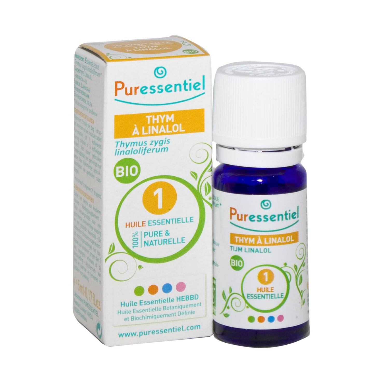 Puressentiel Thym Linalol Huile Essentielle Bio 5 ml