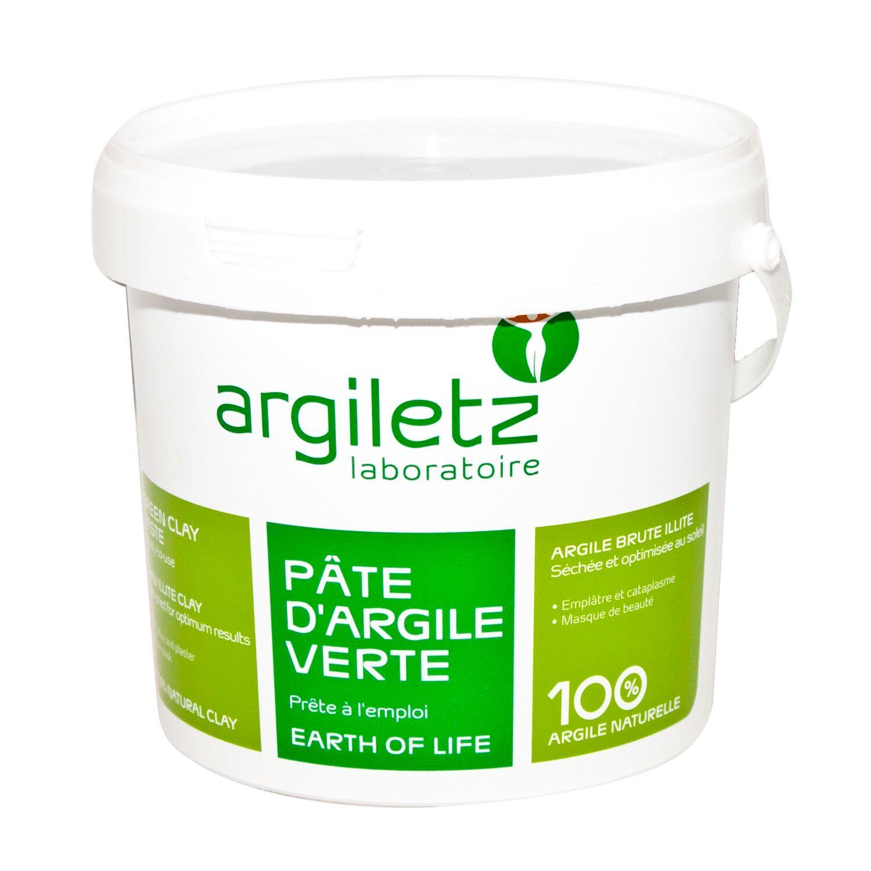 Argiletz Argile Verte Pate 1500 g