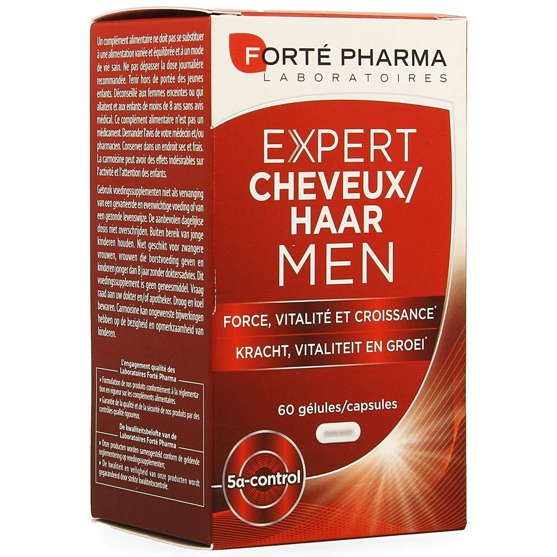 Forte Pharma Expert Cheveux Men 60 Gélules