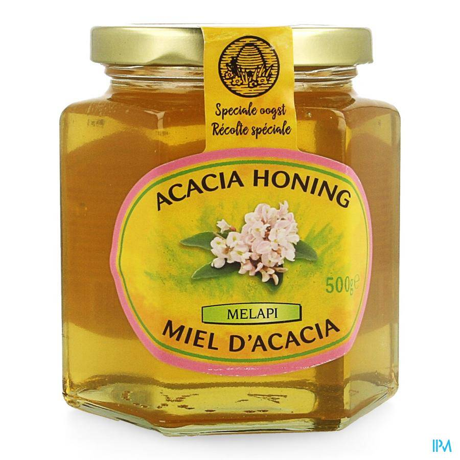 Melapi Miel d' Acacia Liquide 500 g