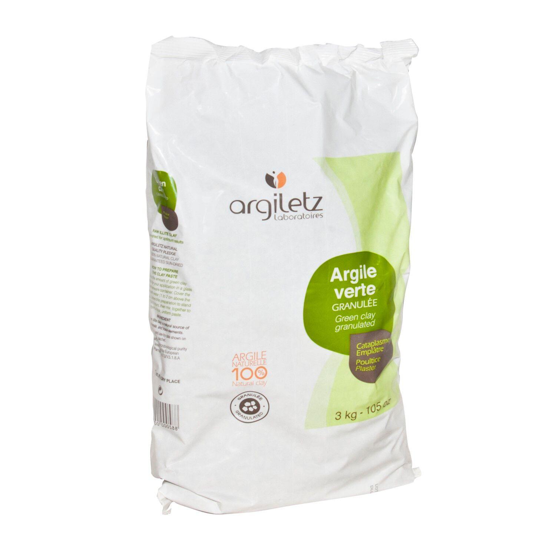 Argiletz Argile Verte granules 3 Kg
