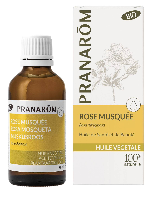 Pranarom Rose Musquée Huile Végétale Bio 50 ml