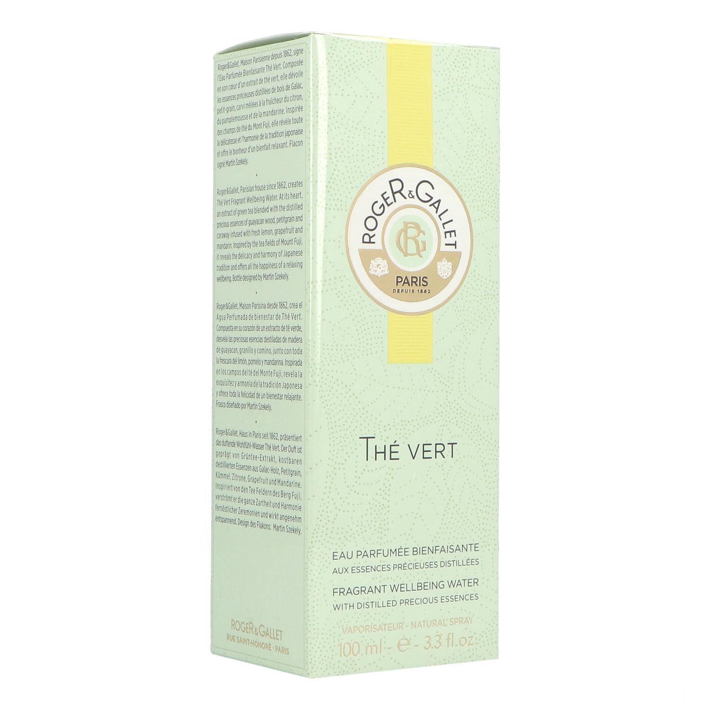 Roger & Gallet Thé Vert Eau Fraiche Parfumée 100 ml