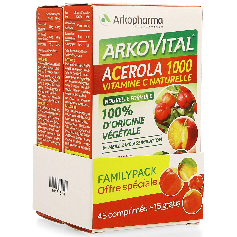 Arko Acerola 1000 60 Comprimés