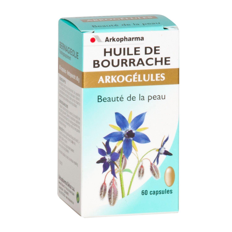 Arko Huile de Bourrache 60 Gélules