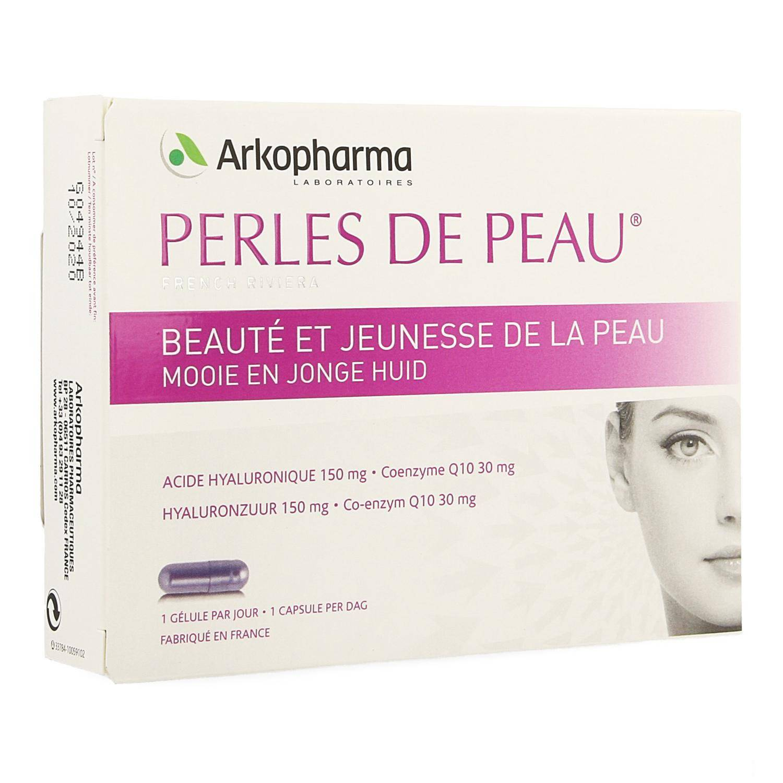 Arko Perles de Peau Acide Hyaluronique + Coenzyme Q10 30 Capsules
