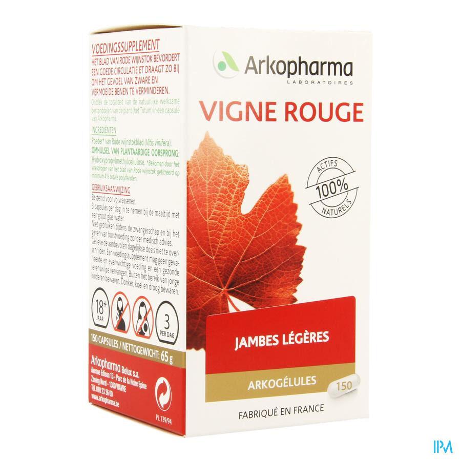 Arko Vitiven Vigne Rouge 150 Gélules